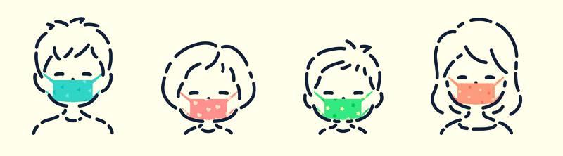 おしゃれマスク時代